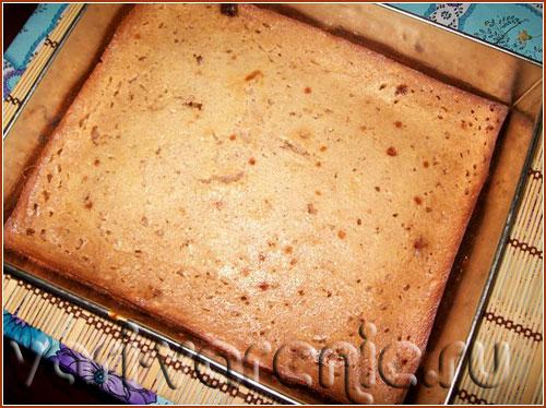 Пирог из теста с вареньем