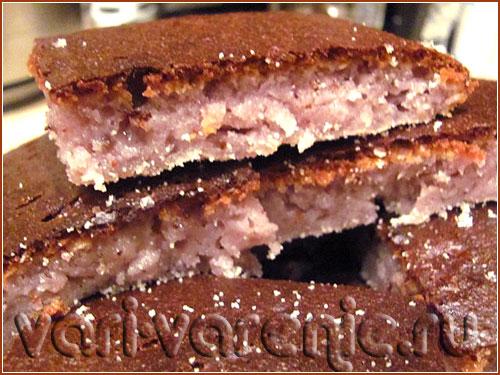 Торт «Негритенок» на смородиновом варенье